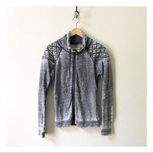 🌴 3/$15 CONVERSE gray quilted lightweight jacket